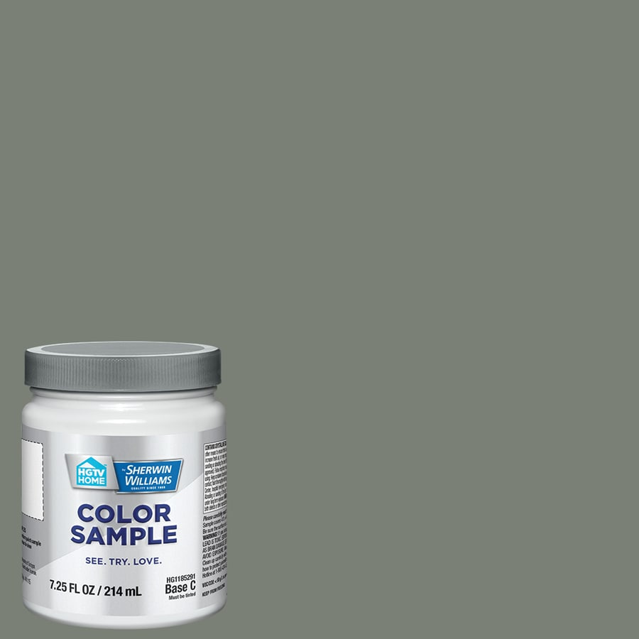 HGTV HOME by Sherwin-Williams Retreat Interior Satin Paint Sample (Actual Net Contents: 7.75-fl oz)