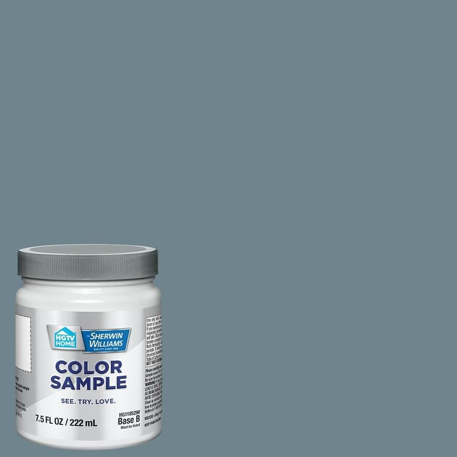 Shop hgtv home by sherwin williams hgsw3323 nordic bleu for Sherwin and williams paint