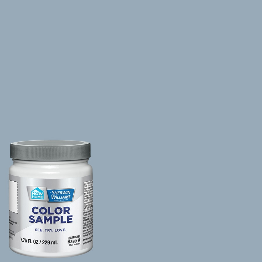 HGTV HOME by Sherwin-Williams Aleutian Interior Satin Paint Sample (Actual Net Contents: 7.75-fl oz)