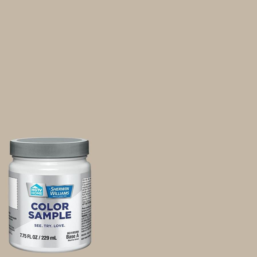 HGTV HOME by Sherwin-Williams Loggia Interior Satin Paint Sample (Actual Net Contents: 7.75-fl oz)