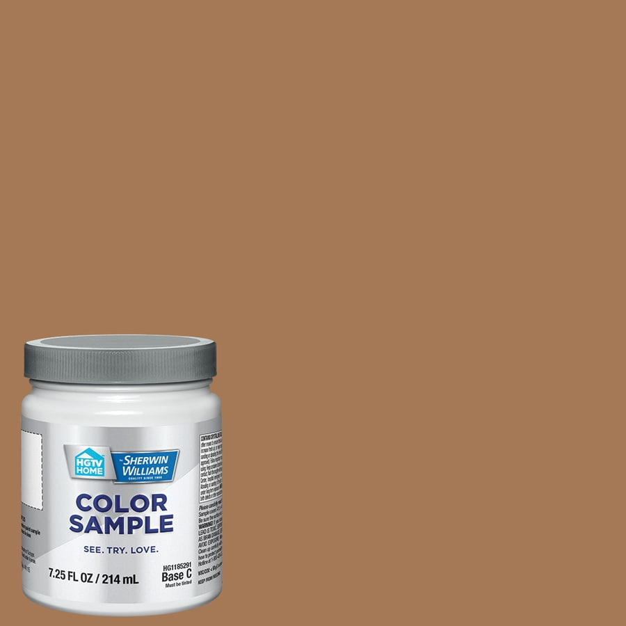 Hgtv Home By Sherwin Williams Smokey Topaz Interior Paint Sample Actual Net Contents