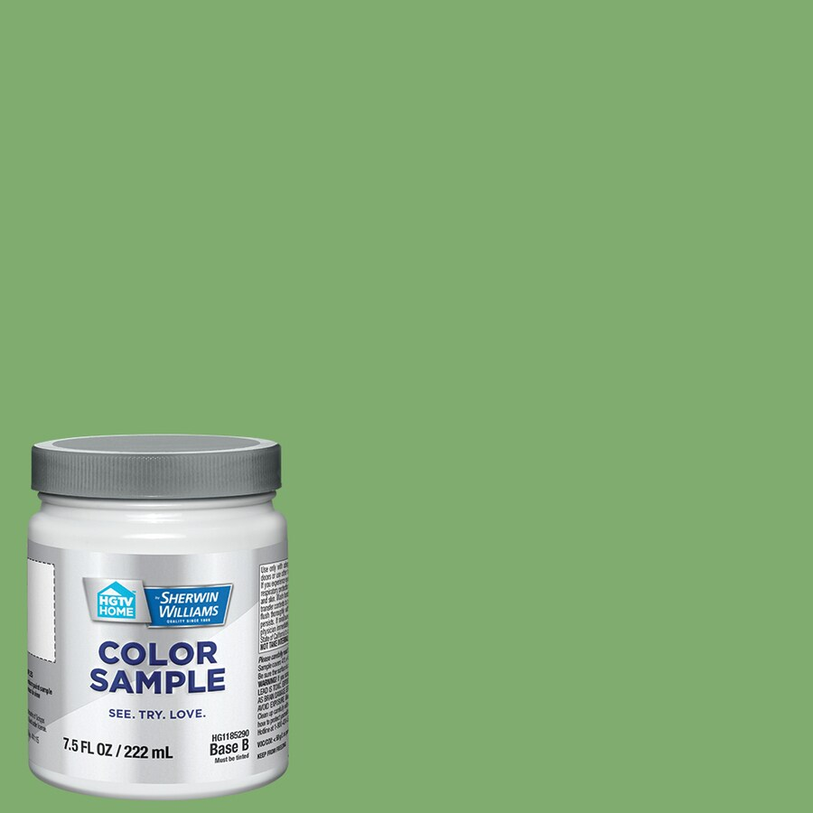 Shop hgtv home by sherwin williams hgsw1263 organic for Sherwin williams paint sample