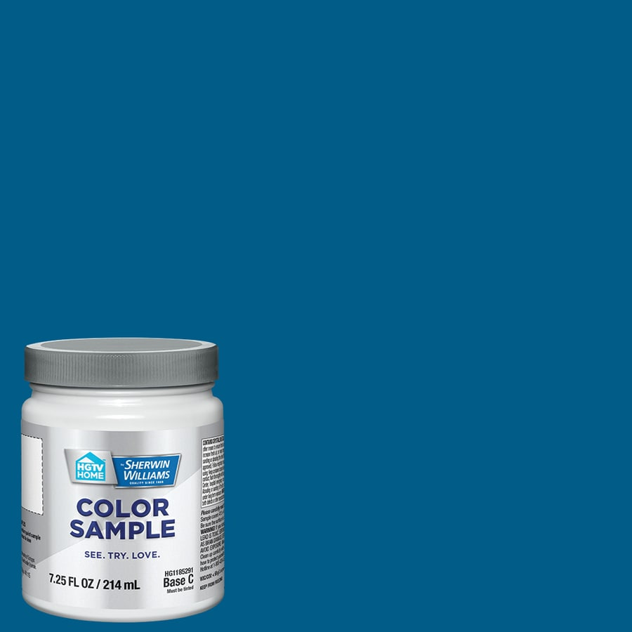 Hgtv Home By Sherwin Williams Jay Blue Interior Paint Sample Actual Net Contents