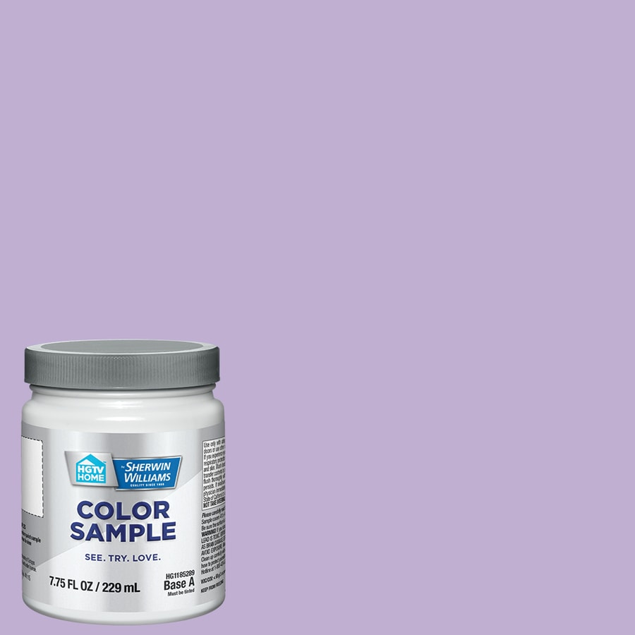 HGTV HOME by Sherwin-Williams (HGSW1425) MAGICAL Interior Satin Paint Sample (Actual Net Contents: 8-fl oz)