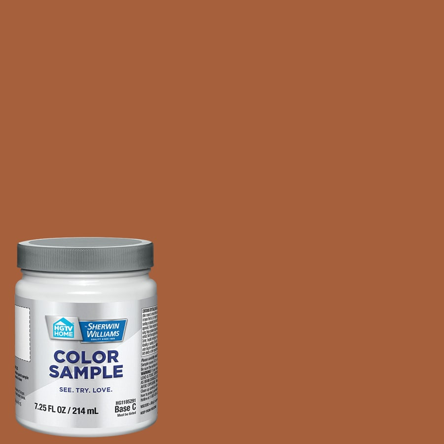 HGTV HOME By Sherwin Williams Copper Mountain Interior Paint Sample (Actual  Net Contents: