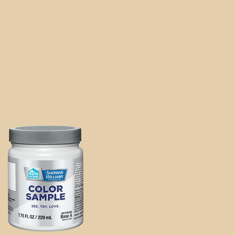 HGTV HOME by Sherwin-Williams (HGSW2177) Ivoire Interior Satin Paint Sample (Actual Net Contents: 8-fl oz)