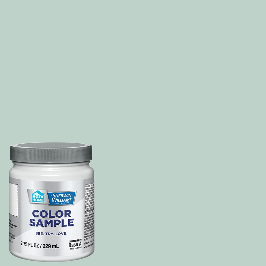 HGTV HOME by Sherwin-Williams (HGSW2307) Waterscape Interior Satin Paint Sample (Actual Net Contents: 8-fl oz)