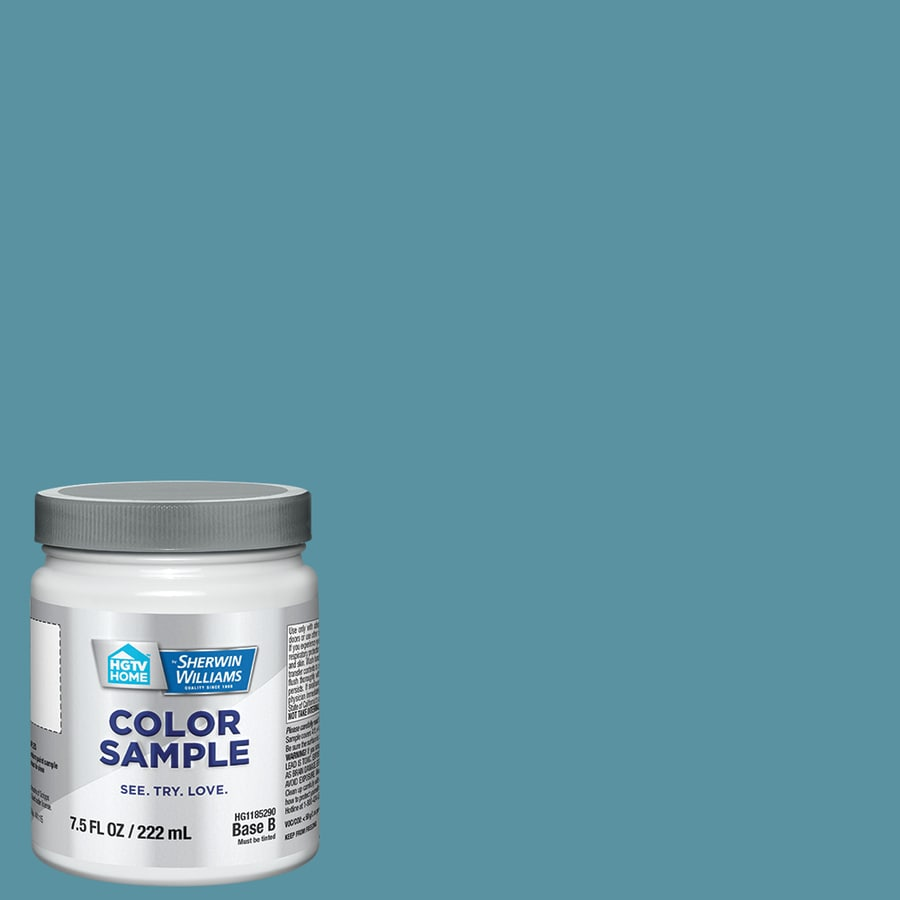 Hgtv Home By Sherwin Williams Manitou Blue Interior Paint Sample Actual Net Contents