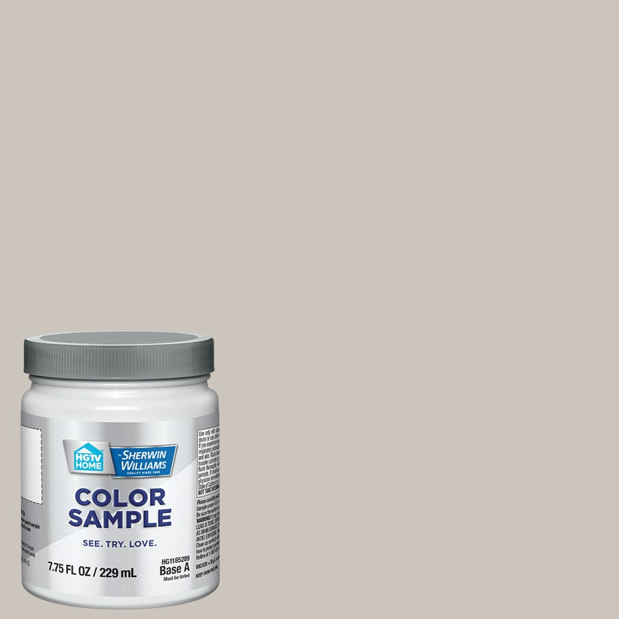 alpaca paint colorShop HGTV HOME by SherwinWilliams HGSW2467 ALPACA Interior