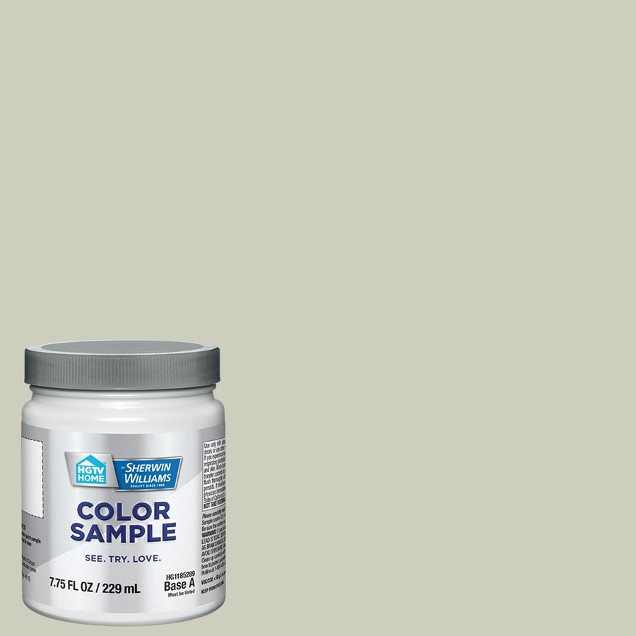 HGTV HOME by Sherwin-Williams (HGSW3247) LIVEABLE GREEN Interior Satin Paint Sample (Actual Net Contents: 8-fl oz)