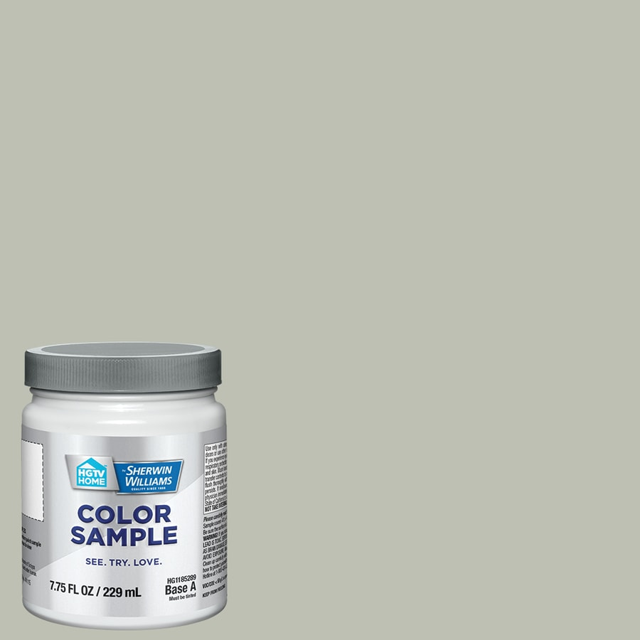Hgtv Home By Sherwin Williams Contented Interior Paint Sample Actual Net Contents 8 Fl Oz