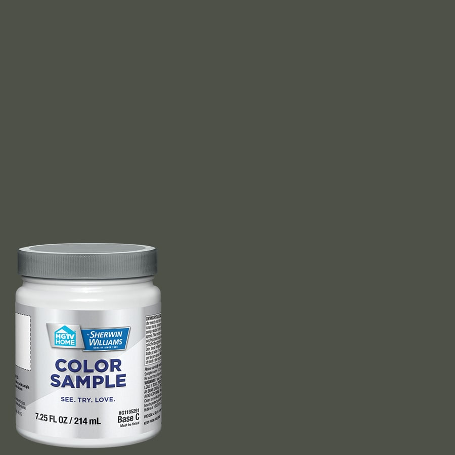 HGTV HOME by Sherwin-Williams (HGSW3261) SHADE-GROWN Interior Satin Paint Sample (Actual Net Contents: 8-fl oz)