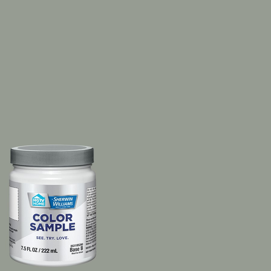 HGTV HOME by Sherwin-Williams (HGSW3284) THORNTREE Interior Satin Paint Sample (Actual Net Contents: 8-fl oz)