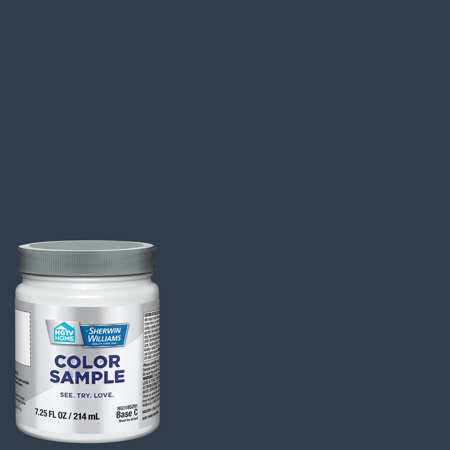 HGTV HOME By Sherwin Williams Naval Interior Paint Sample (Actual Net  Contents: 8