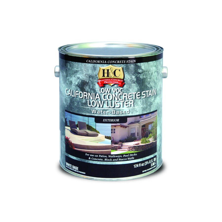 H&C Low VOC Water-Based California Concrete Stain