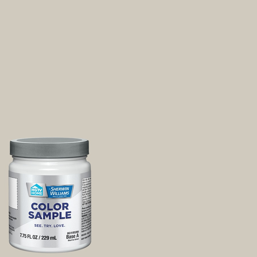 HGTV HOME by Sherwin-Williams (HGSW3497) USEFUL GRAY Interior Satin Paint Sample (Actual Net Contents: 8-fl oz)