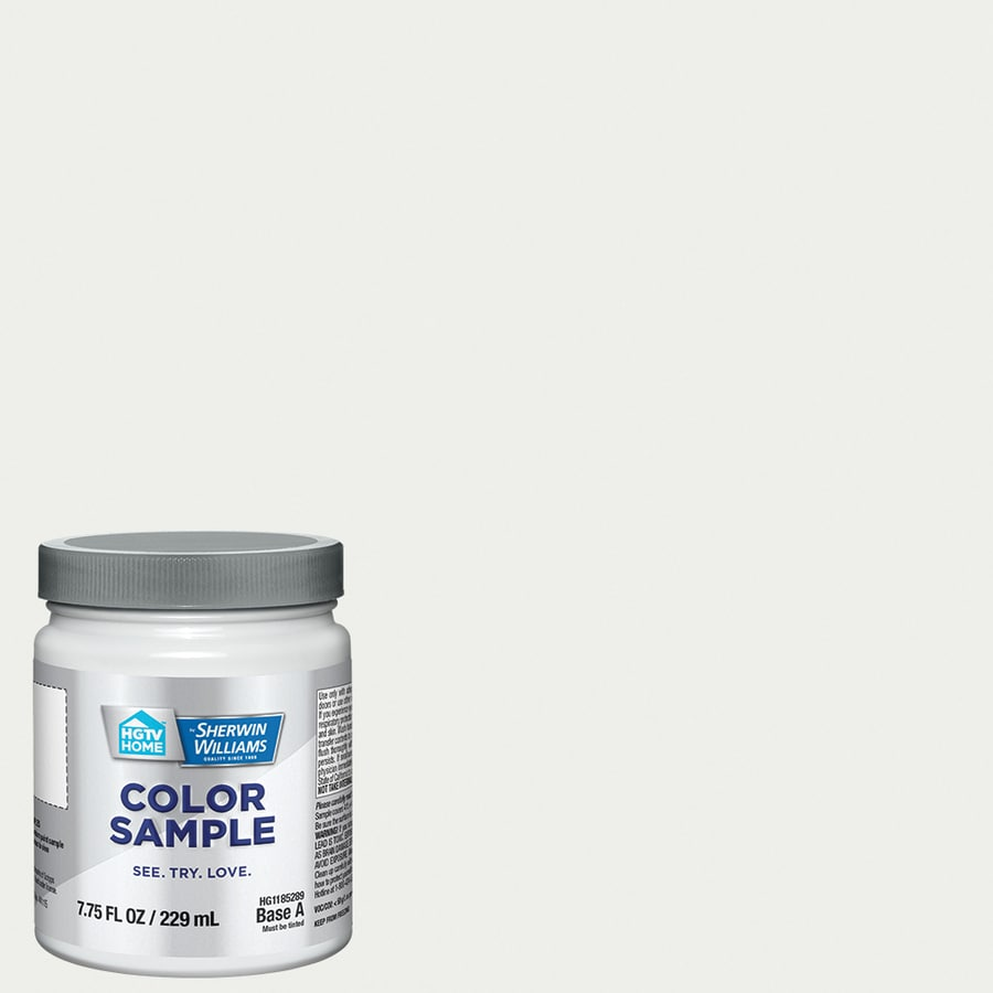 Hgtv Home By Sherwin Williams Extra White Interior Paint Sample Actual Net Contents
