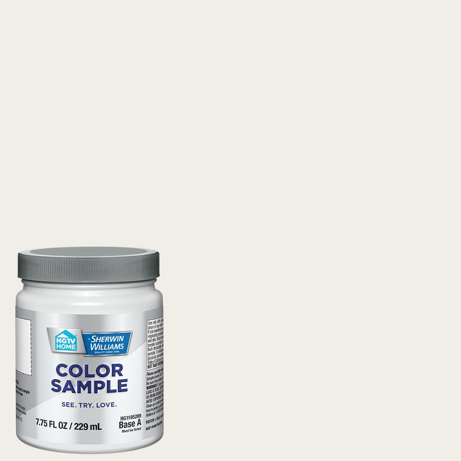 HGTV HOME by Sherwin-Williams (HGSW4052) BOHEMIAN LACE Interior Satin Paint Sample (Actual Net Contents: 8-fl oz)
