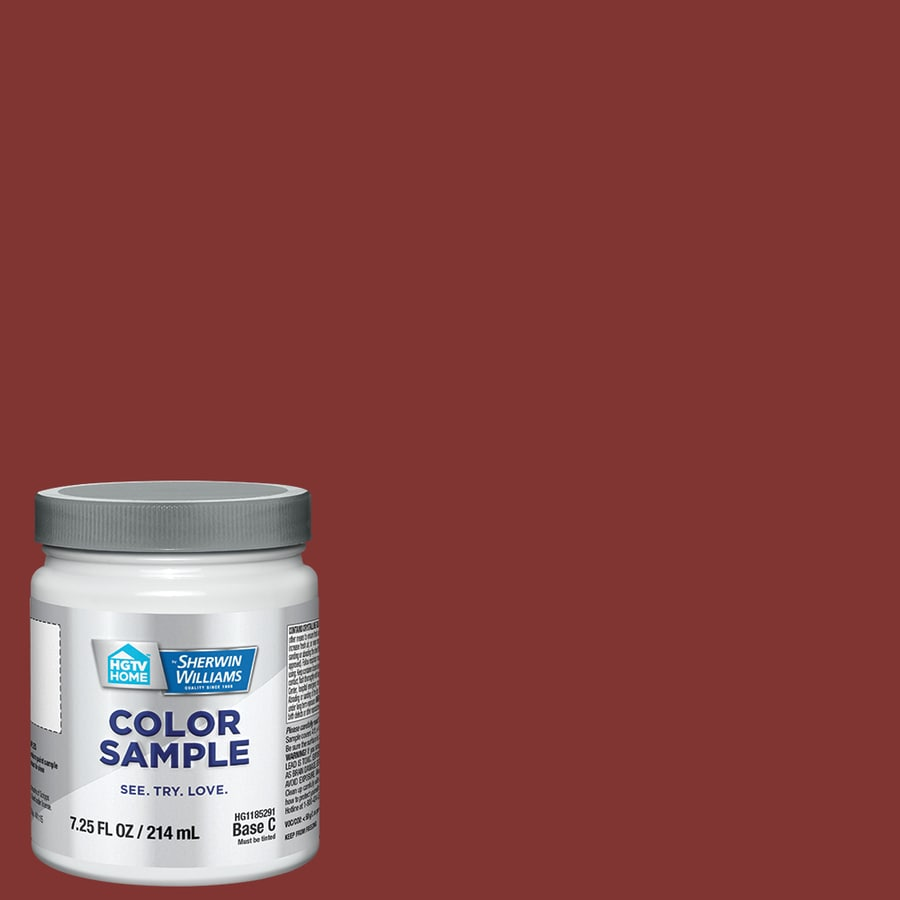 shop hgtv home by sherwin williams salute interior paint sample