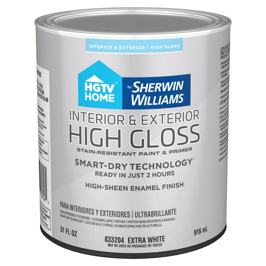 Hgtv Home By Sherwin Williams Door And Trim Tint Base High Gloss Latex Interior