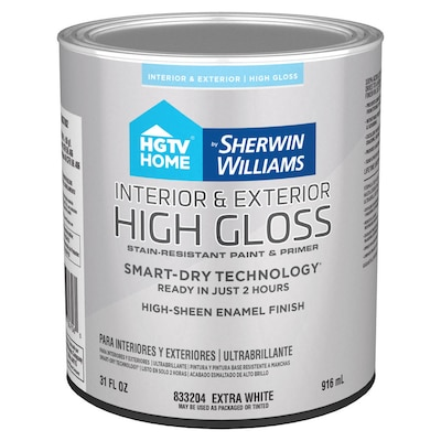 Door And Trim Tint Base High Gloss Latex Interior Exterior Paint Primer In One Actual Net Contents 31 Fl Oz