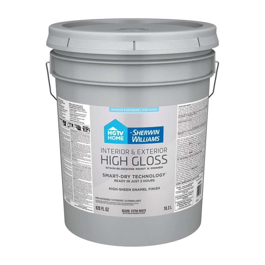 Shop Hgtv Home By Sherwin Williams Door And Trim Tint Base High Gloss Latex Interior Exterior
