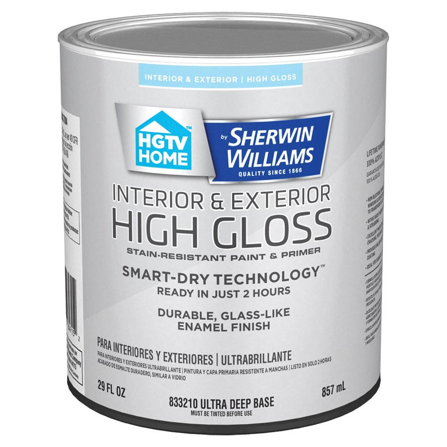 Marvelous HGTV HOME By Sherwin Williams Door And Trim Tint Base High Gloss Latex  Interior