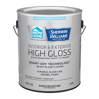 Door And Trim Tint Base High Gloss Latex Interior Exterior Paint Primer In One Actual Net Contents 116 Fl Oz