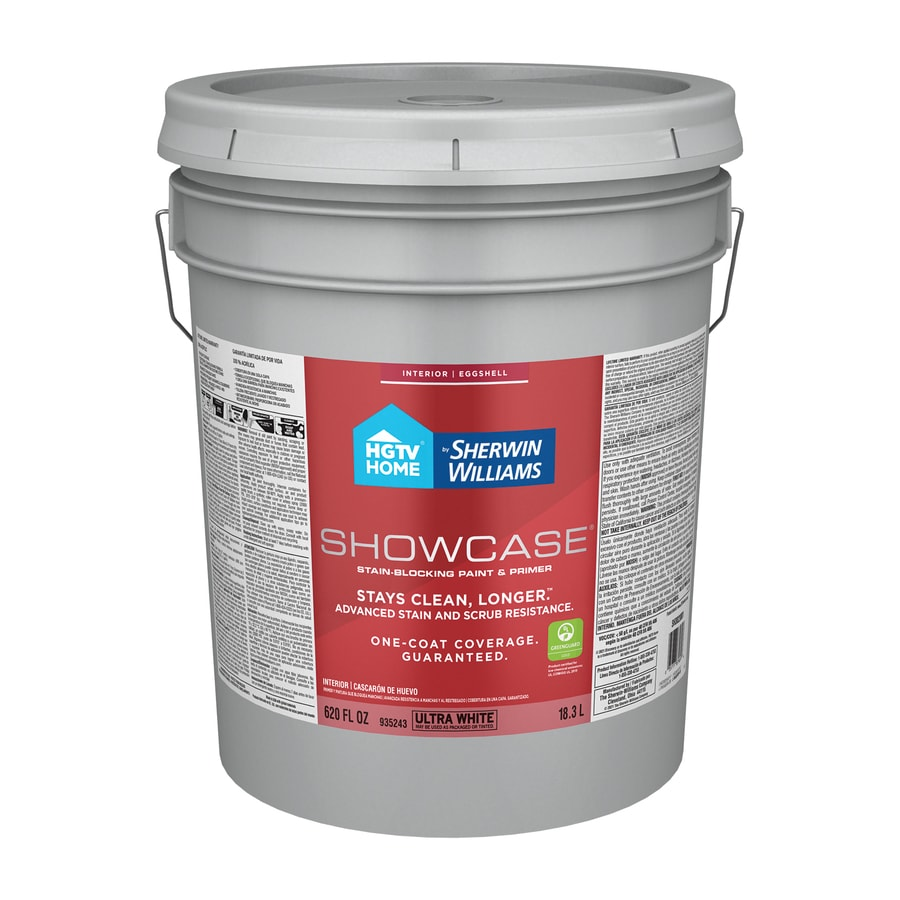 Hgtv home by sherwin williams showcase eggshell tint base - Eggshell vs semi gloss ...