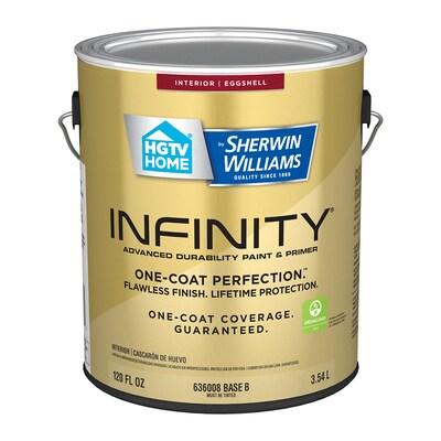 HGTV HOME by Sherwin-Williams Infinity Eggshell Latex Paint