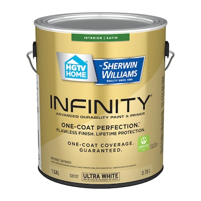 Infinity Satin Latex Tintable Paint (Actual Net Contents: 128-fl oz)