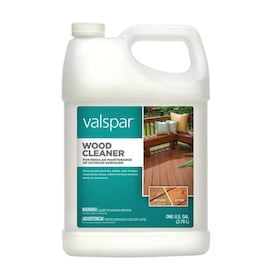 Valspar 128-fl oz Biodegradable Wood Cleaner