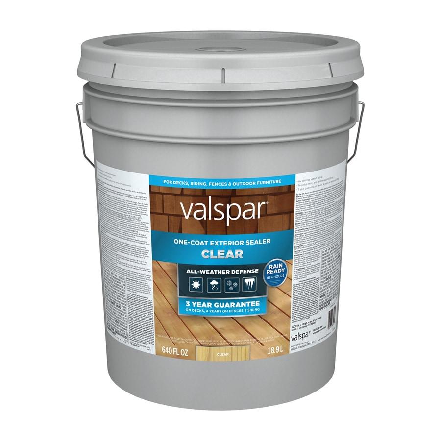 Valspar Clear Exterior Stain Actual Net Contents 640 Fl Oz At