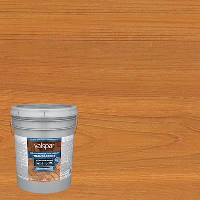 Valspar Pre-Tinted Cedar Naturaltone Transparent Exterior Stain and Sealer