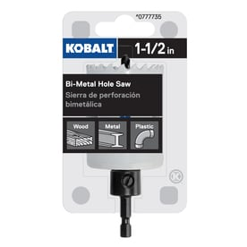 Kobalt 1-1/2-in Bi-Metal Arbored Hole Saw