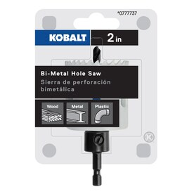 Kobalt 2-in Bi-Metal Arbored Hole Saw