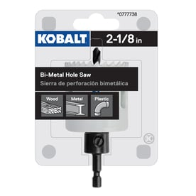 Kobalt 2-1/8-in Bi-Metal Arbored Hole Saw