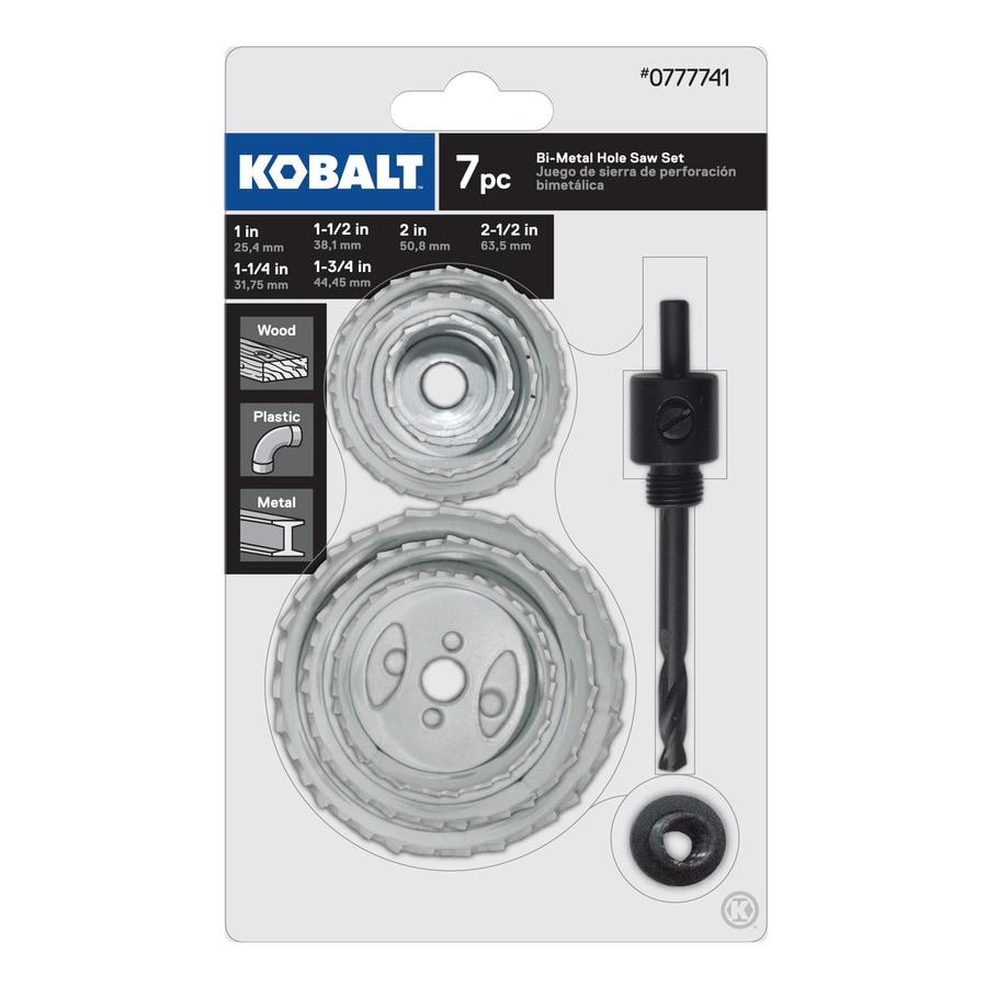 Kobalt Bi-Metal Hole Saw Kit
