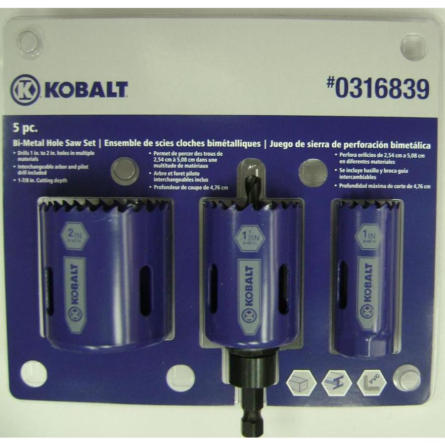 Kobalt Bi-Metal Hole Saw Kit