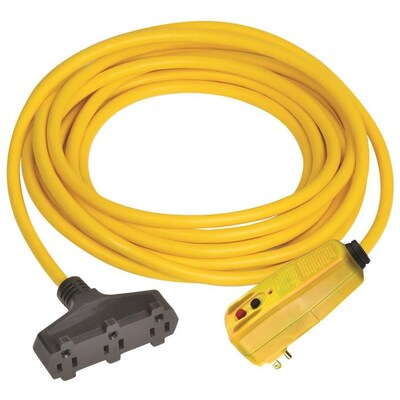 50 Ft 15 Amp 120 Volt 3 Outlet 12 Gauge