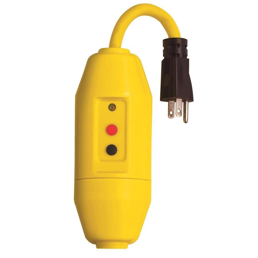 Tower Manufacturing 15-Amp 125-Volt Yellow 3-Wire Grounding Connector