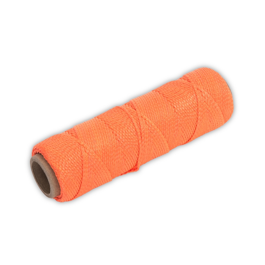 Marshalltown 250-ft Fluorescent Orange Nylon Mason Line