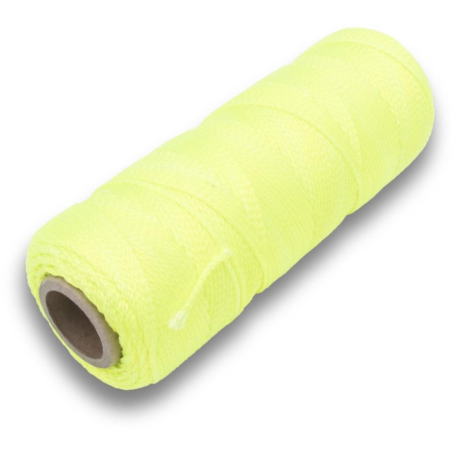 Marshalltown 500-ft Fluorescent Yellow Nylon Mason Line