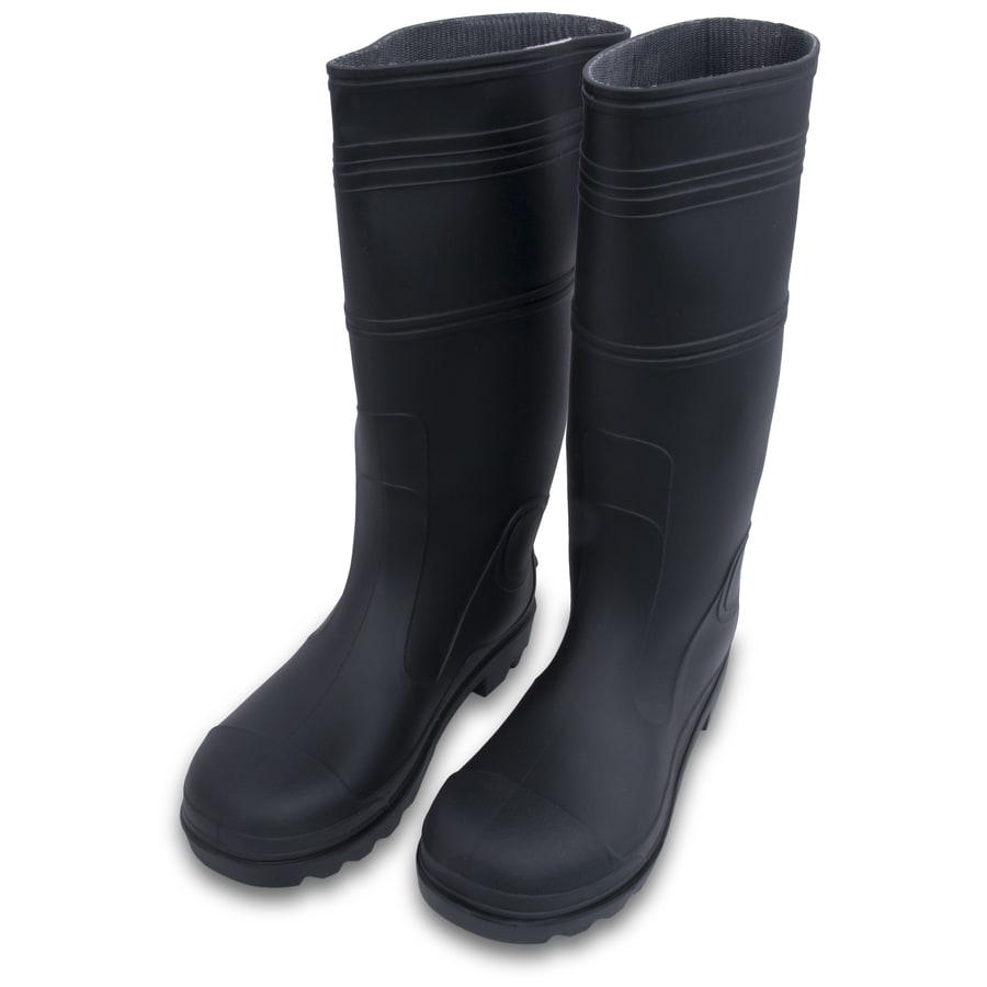 Marshalltown Lined Black Rubber Boots (11)