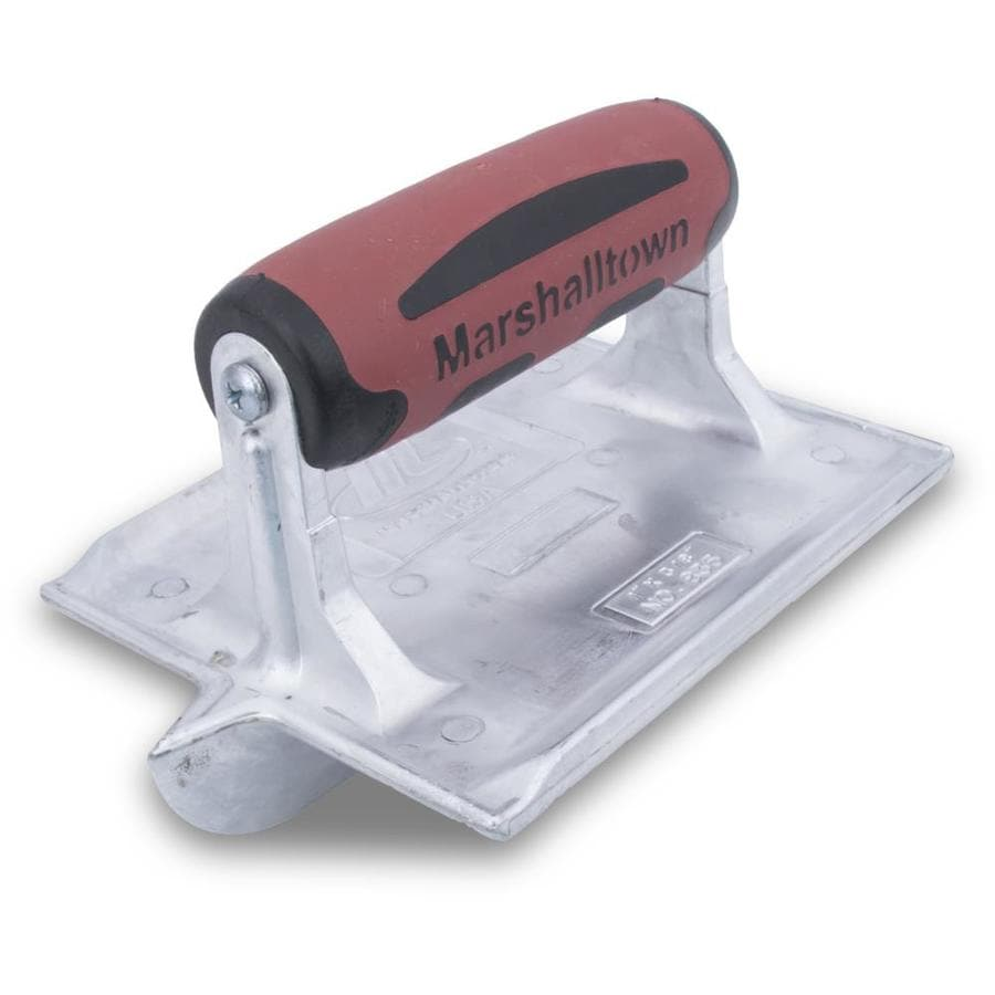 Marshalltown 4.375-in x 6-in Stainless Steel Concrete Groover