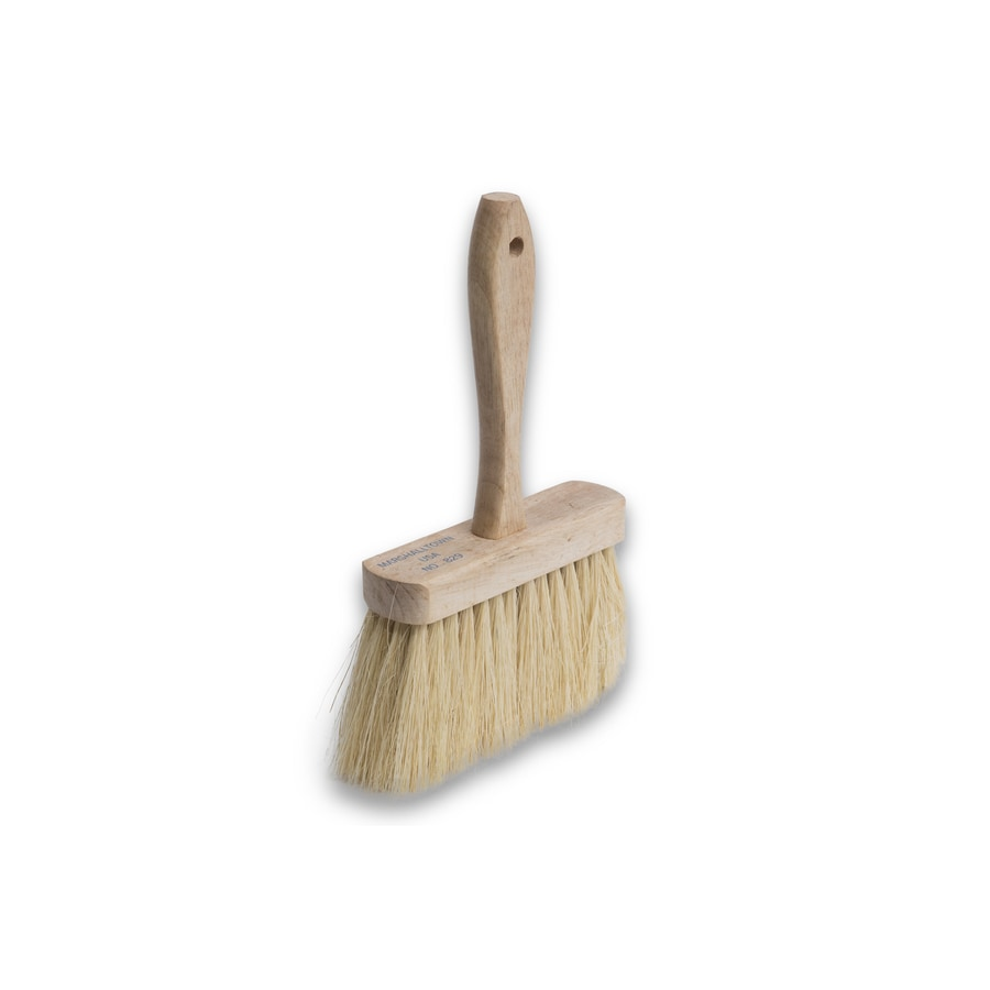 Marshalltown Natural Bristle Block and Stucco Masonry Brush (Common: 6.5-in; Actual: 1.75-in)