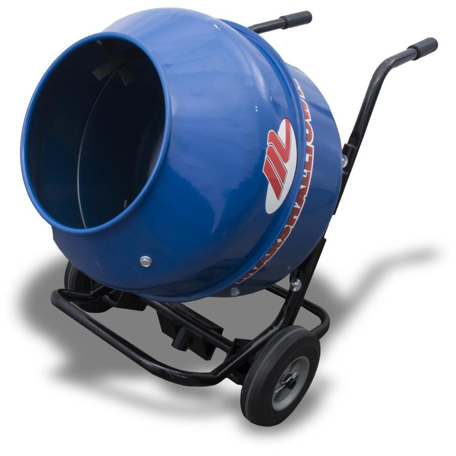 Marshalltown 5.65-cu ft .5-HP Cement Mixer