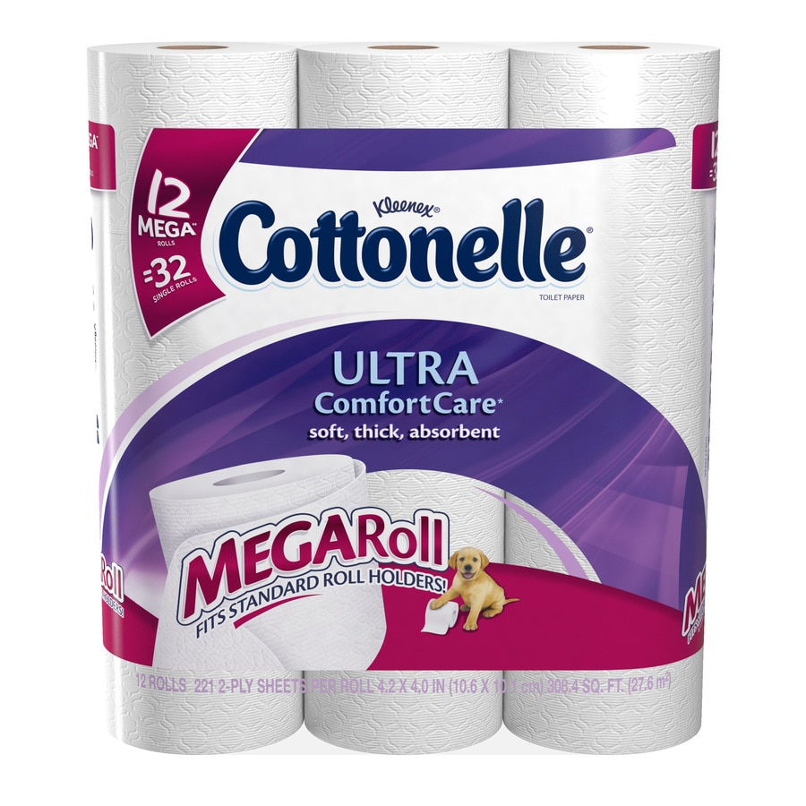 Cottonelle 12-Pack Toilet Paper