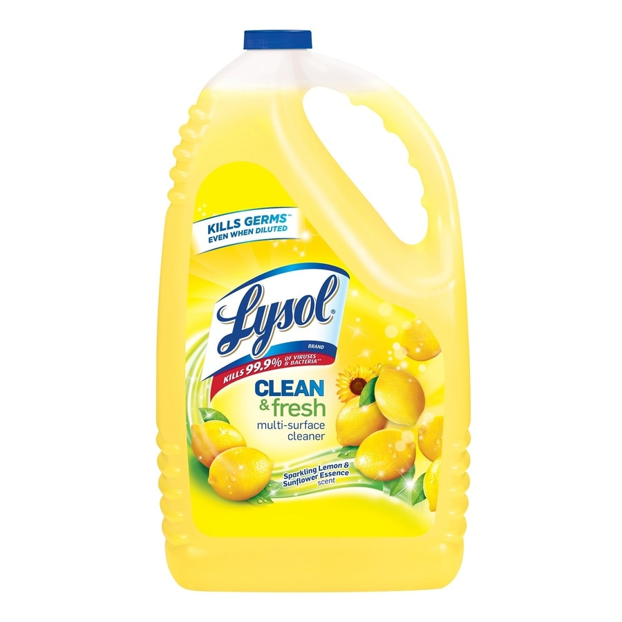 LYSOL 144-oz Lemon All-Purpose Cleaner