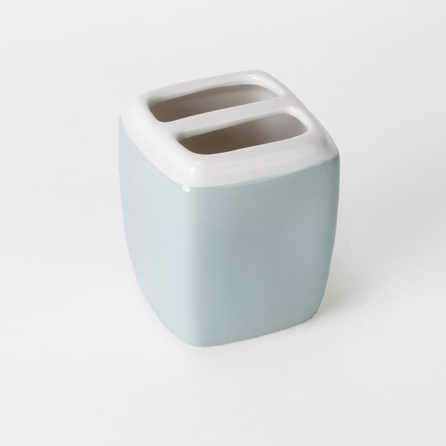 Saturday Knight Limited Modena Blue/Ceramic Ceramic Toothbrush Holder